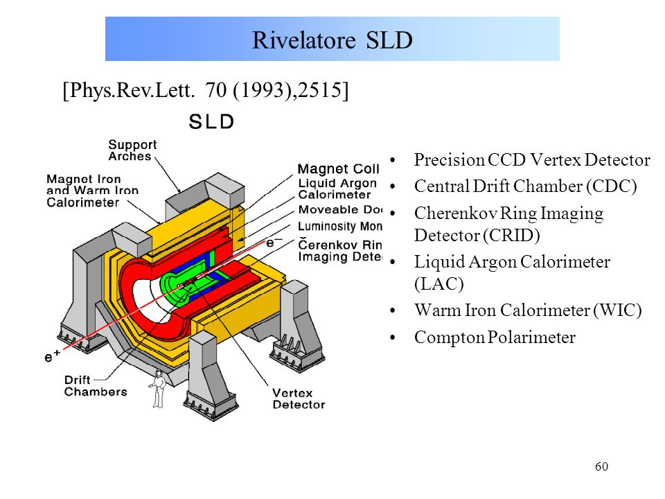 Rivelatore SLD [Phys.Rev.Lett. 70 (1993),2515]